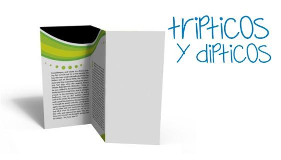 tripticos y dipticos